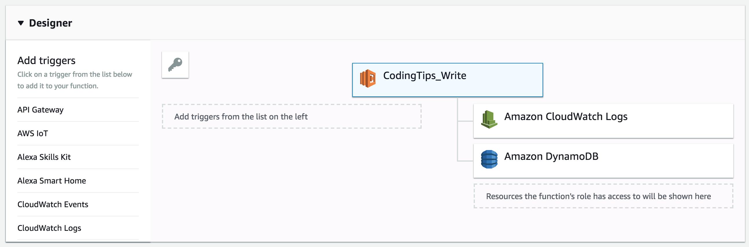 Create a Serverless Application with AWS Lambda and DynamoDB