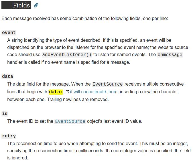 Mocking server sent events: Development and CI - Tim