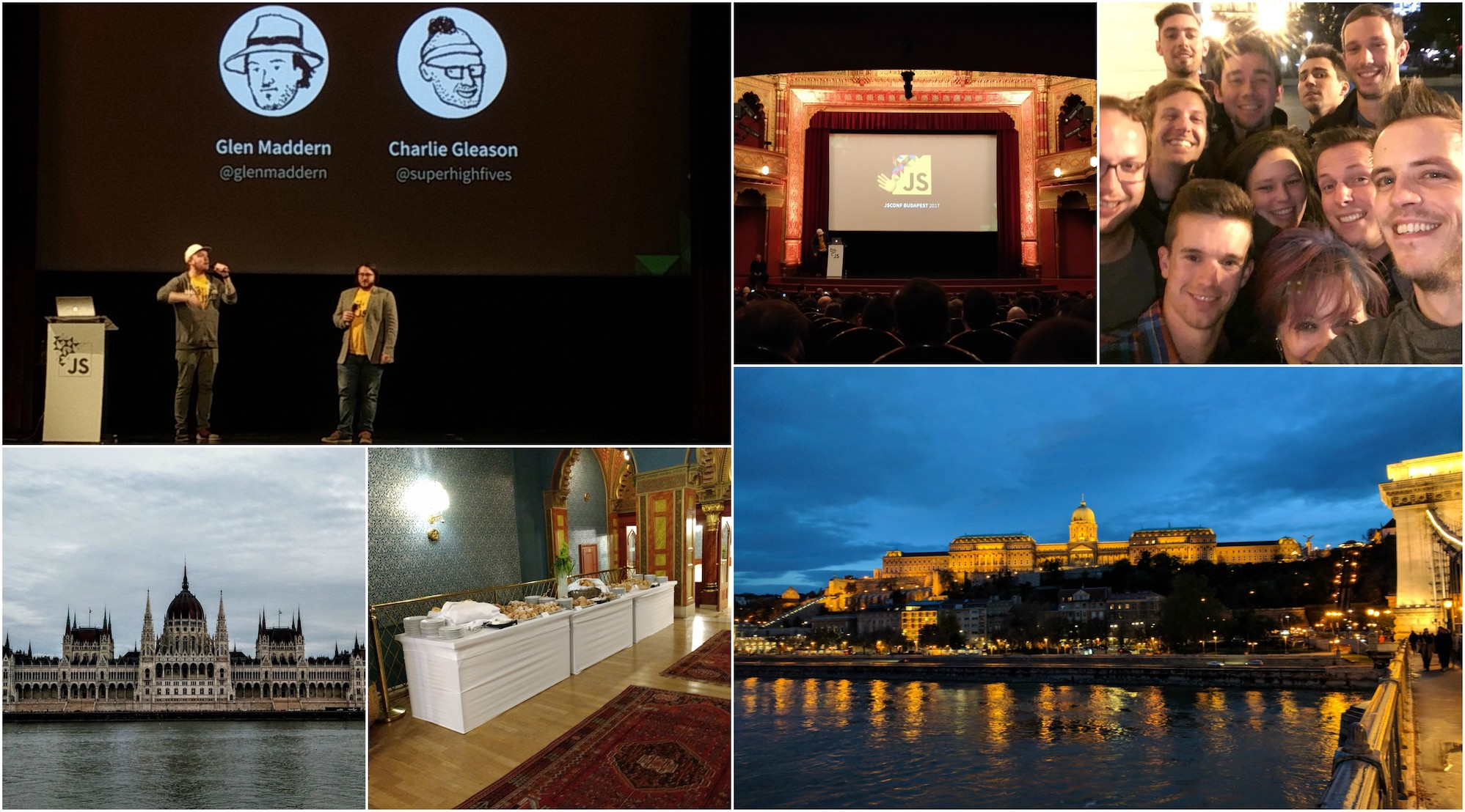 JS Conf Budapest 2017 Photo Collage