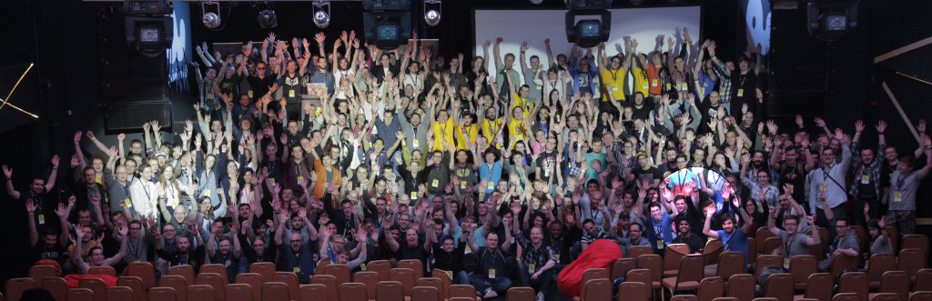 JS Conf Budapest 2016 Family Photo