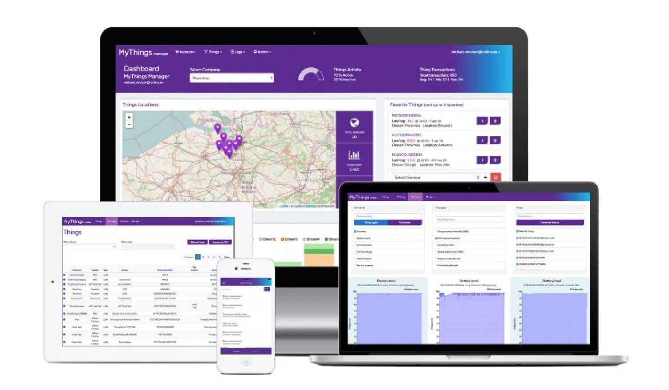 Proximus MyThings LoRa IoT Platform